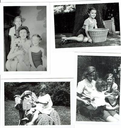 Image for 21 SNAPSHOT PHOTOGRAPHS OF PRESIDENT FRANKLIN DELANO ROOSEVELT'S GRANDDAUGHTERS KATE & SARA and his DAUGHTER-IN-LAW BETSEY CUSHING ROOSEVELT WHITNEY.