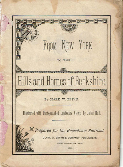 Image for FROM NEW YORK TO THE HILLS AND HOMES OF BERKSHIRE.