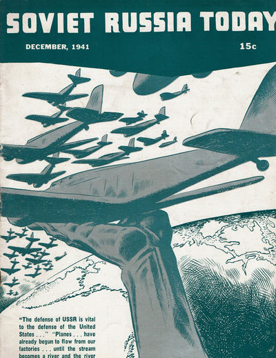 Image for SOVIET RUSSIA TODAY. (Vol. 10, No. 8) December, 1941. (Cover title).