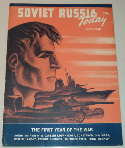 Image for SOVIET RUSSIA TODAY. (Vol. 11, No. 3) July, 1942. (Cover title).