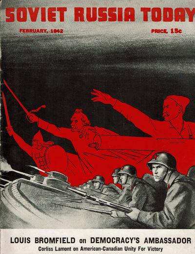 Image for SOVIET RUSSIA TODAY. (Vol. 10, No. 10) February, 1942. (Cover title).