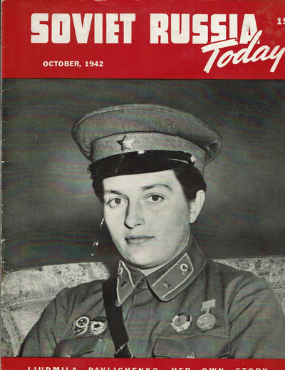 Image for SOVIET RUSSIA TODAY. (Vol. 11, No. 6) October 1942. (Cover title).