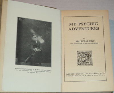 Image for MY PSYCHIC ADVENTURES. By J. Malcolm Bird, associate editor, Scientific American.