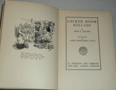 Image for LOCKER ROOM BALLADS. By John E. Baxter. Illustrated by James Montgomery Flagg.