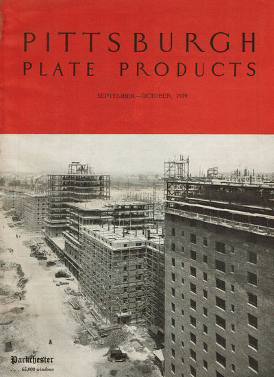 Image for PITTSBURGH PLATE PRODUCTS. Volume XLVIII, Number Five. September-October, 1939.