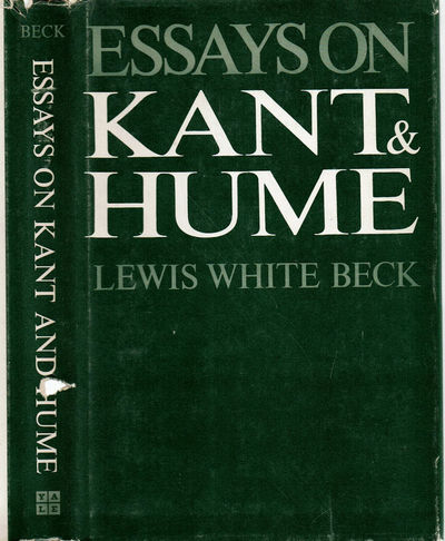 Image for ESSAYS ON KANT & HUME.