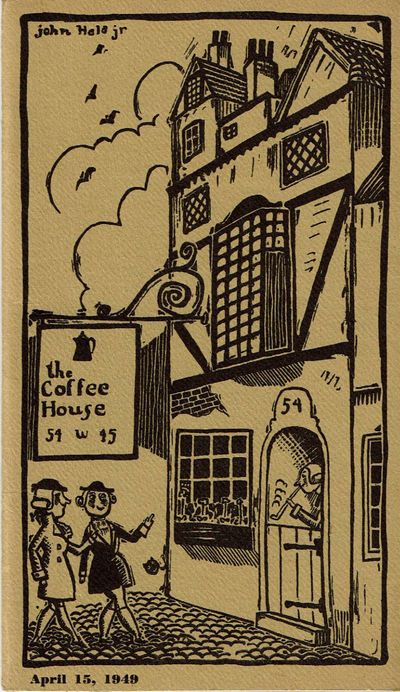 Image for SOME NOTES ABOUT THE COFFEE HOUSE: A PRIVATE CLUB.