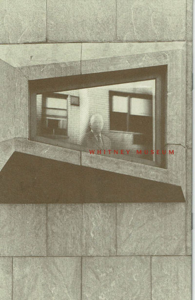 Image for BREUER'S WHITNEY: An Anniversary Exhibition. (Cover title).