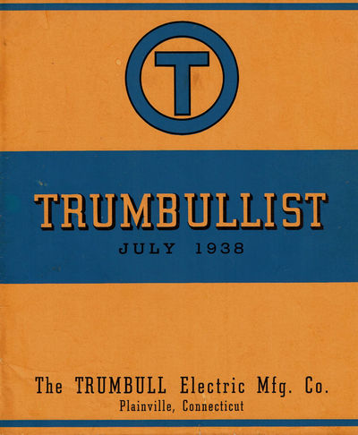 Image for TRUMBULLIST July 1938: Electrical Control Apparatus.