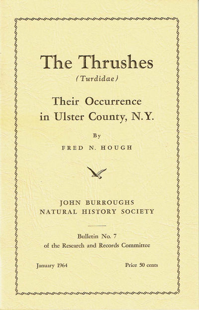 Image for THE THRUSHES (Turdidae). Their Occurrence in Ulster County, N.Y.