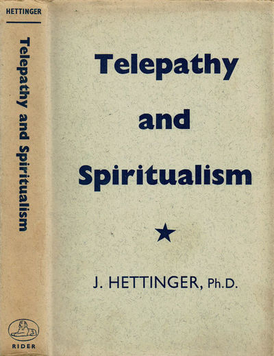 Image for TELEPATHY AND SPIRITUALISM.