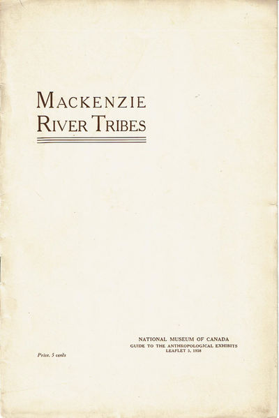 Image for MACKENZIE RIVER TRIBES. (Cover title).