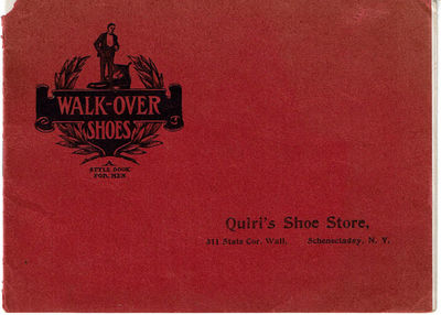 Image for WALK-OVER SHOES: A Style Book for Men.