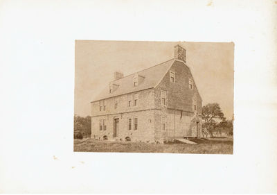 Image for ORIGINAL PHOTOGRAPH of PETER TUFTS HOUSE incorrectly known as CRADDOCK HOUSE, MEDFORD, MASS.