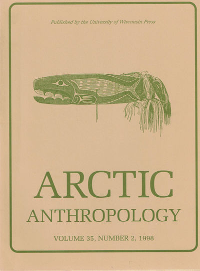 Image for ARCTIC ANTHROPOLOGY. Vol. 35, No. 2. 1998. No Boundaries: Papers in Honor of James W. VanStone.