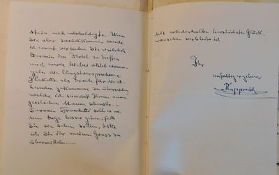 Image for AN ALBUM of 26 LETTERS, NOTES & TELEGRAMS from invited guests to the WEDDING of the BARONESS ALEXANDRA VON NAGEL ZU AICHBERG to COUNT HUBERT DEYM VON STRITEZ, KNIGHT OF THE ORDER OF MALTA. Including historical figures who opposed and supported the rise of Fascism.