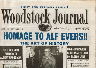 Image for WOODSTOCK JOURNAL. VOL.2 NO.12; VOL.2, NO.15 AND VOL.2 NO.16. (June 14, July 26 and August 9, 1996). (3 issues).