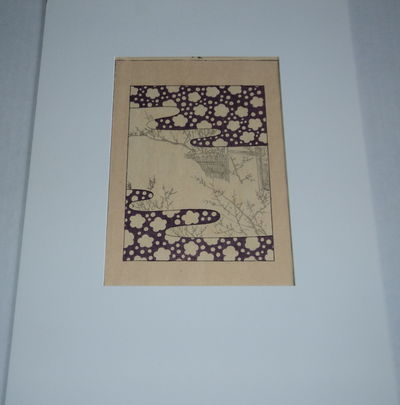 Image for AN ORIGINAL VINTAGE JAPANESE FABRIC DESIGN WOODBLOCK PRINT