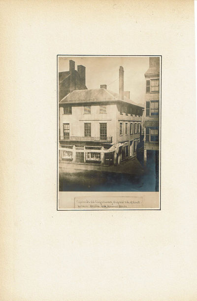 "Image for VINTAGE PHOTOGRAPH OF ""COPELAND'S OLD CONFECTIONERY SHOP, EAST SIDE OF COURT, BETWEEN BRATTLE AND HANOVER STREETS"", IN BOSTON."