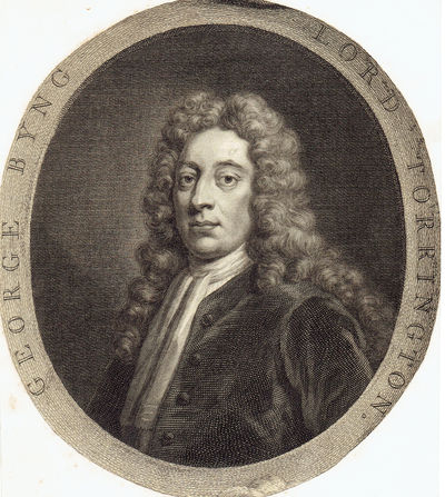 "Image for ""GEORGE BYNG / LORD TORRINGTON"": A VINTAGE 18TH CENTURY MEZZOTINT PORTRAIT OF GEORGE BYNG, 1ST VISCOUNT TORRINGTON"