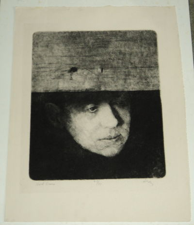 Image for HART CRANE: A RICH BOLD ETCHING OF THE POET HART CRANE, SIGNED BY THE ARTIST CHARLES WELLS