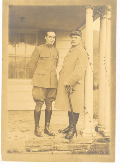 Image for ORIGINAL SILVER PRINT PHOTOGRAPH OF THE FRENCH WORLD WAR I HERO MARSHALL FOCH DURING HIS VISIT TO CLEVELAND