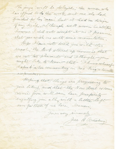 "Image for THE MEXICAN REVOLUTION. A 6-PAGE AUTOGRAPH LETTER SIGNED. A first hand account of an attack on the village of Zimapan by ""rebels"" [Zapatistas]."