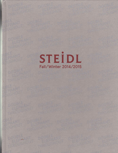 Image for STEIDL FALL/WINTER 2014/2015. Photography Book Catalog.