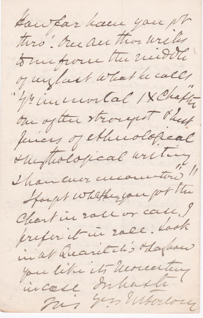 "Image for THREE AUTOGRAPH LETTERS SIGNED BY JAMES FORLONG AT THE TIME OF PUBLICATION OF HIS MAJOR WORK ""RIVERS OF LIFE""."